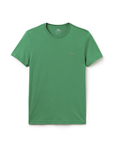 Lacoste Men's Red Crew Neck T-Shirt Green