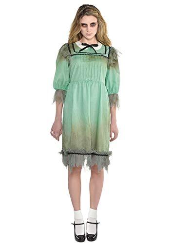 Kostüm Das Zwillinge Glänzende - Magic Box Int. Das schreckliche Liebling-Kostüm der glänzenden Art der Frauen Small (UK 8-10)
