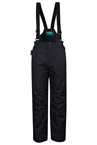 Mountain Warehouse Pantalon de ski Enfant Garçon Fille Salopette Snowboard bretelles Hiver Neige Raptor