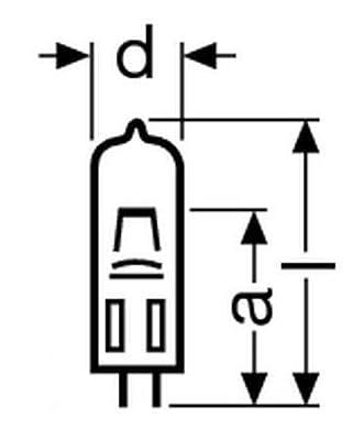 Osram Leuchtmittel 400 W 36 V G6,35 40X1 64664 HLX von Osram - Lampenhans.de