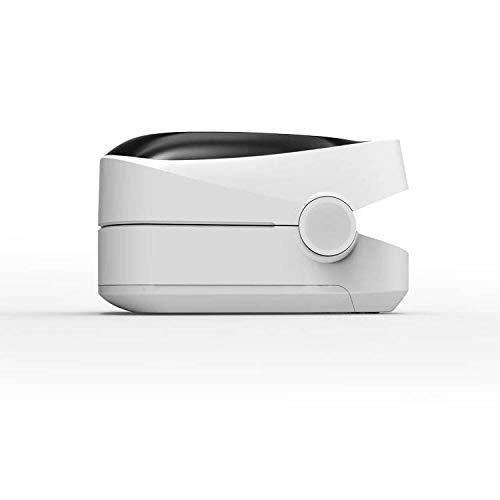 MoMo Haushaltsfingerclip-Pulsoximeter, Schlafüberwachungs-Fingerimpuls, Kindüberwachungsoximeter,Weiß,Einheitsgröße