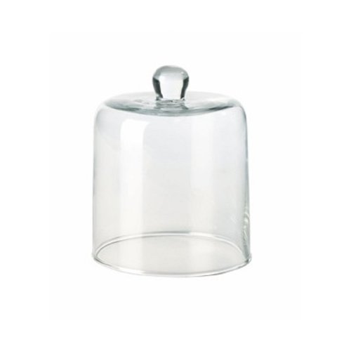 Glasglocke D.10,8cm, H.13,2cm