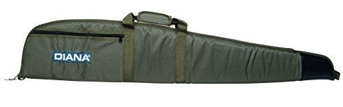 Diana Gewehrfutteral mit Aussentasche, Länge 123 cm, 41600000 OLIV