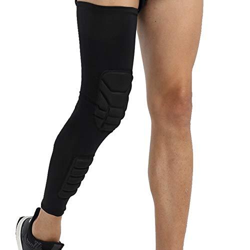 HoganeyVan Kniebandage Knieschützer Klammer Kniepolster Gym Gewichtheben Kniebandage Riemen Schutz Kompression Knie Ärmelstütze