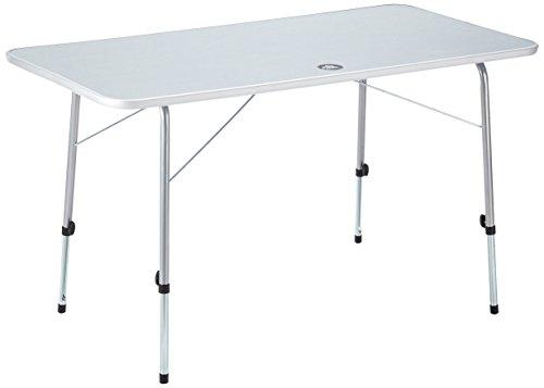 10T Flaprack Campingtisch 120x60 Klapptisch für 4 - 6 Personen Gartentisch Picknick Reisetisch klappbarer Tisch mit stabiler Tischplatte und Teleskop-Tischbeine stufenlos verstellbar