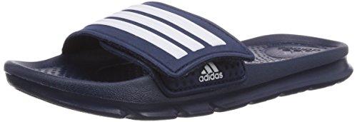 adidas Halva 4 CF, Unisex-Kinder Dusch- & Badeschuhe, Blau (Collegiate Navy/White/Collegiate Navy), 28 EU (10.5 Kinder UK)