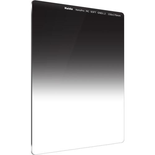 HAIDA NanoPro MC Optical 170 mm x 150 mm GND Soft Edge Verlaufsfilter 1.2 (16x) - Kompatibel mit Serie 150 Haltern
