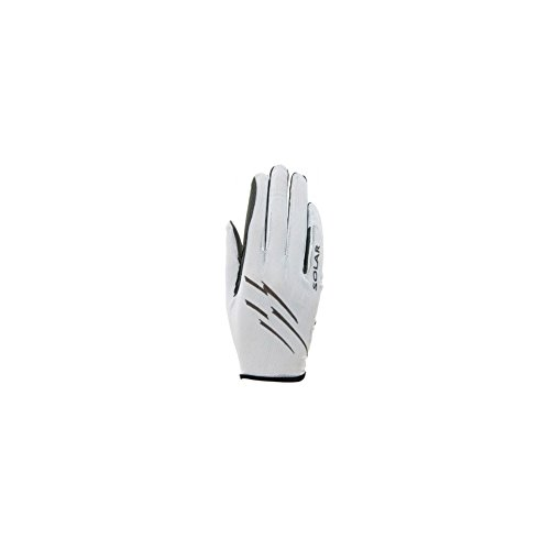 Roeckl Sports Ladies Handschuh -Laila- Damen Reithandschuh, Weiß, 7,5