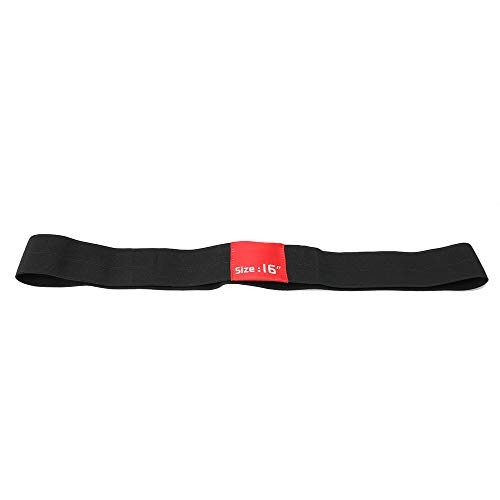 Yibuy Drum Cymbal Dämpfer für Hi Hat Übungsdämpfer, Violett 46.5x5cm/18x1.97in(LxW) schwarz/rot
