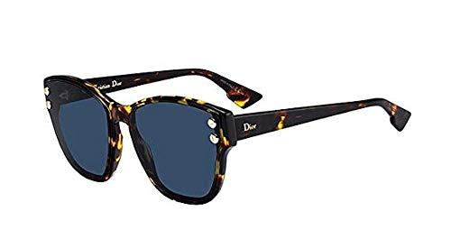 Dior Sonnenbrillen Addict 3 Havana/Blue Damenbrillen
