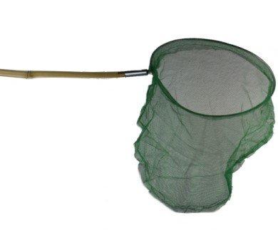 Kescher / Schmetterlingsnetz mit Bambusstiel