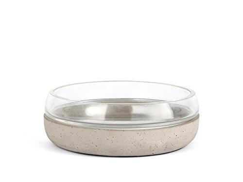 Zilverstad 8073030 Coque Solido, béton, Gris, 21,5 x 21,5 x 7,4 cm