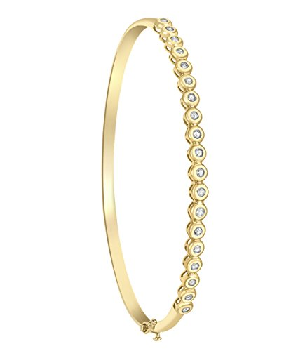 Carissima Gold - Femme - Bracelet - Or - (9 Carat) - Diamant Yellow Gold