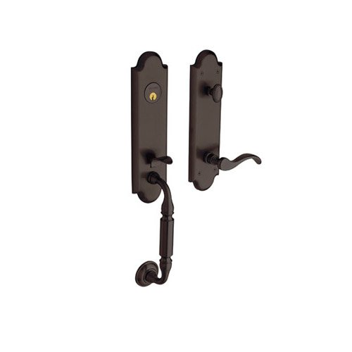 Keyed Baldwin Hardware (Baldwin Hardware 85350.112. Rent Griff Set)