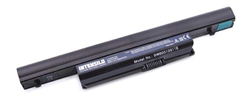 INTENSILO Akku für Packard Bell EasyNote LK11, LK11BZ, LX86 Notebook Laptop wie AS10B41 - (Li-Ion, 6000mAh, 10.8V)