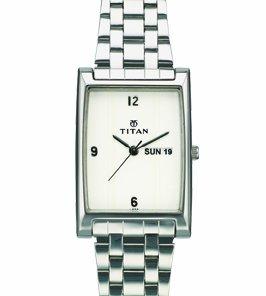 31bmhBfMe7L - Titan NB1369SM01 Steel watch