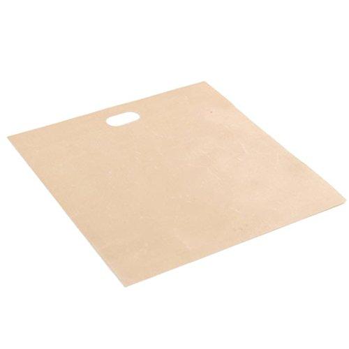 Für Toaster, wiederverwendbar, antihaftbeschichtet Brot Tasche Mikrowelle Heizung Gebäck Tools, glas, 16*18cm