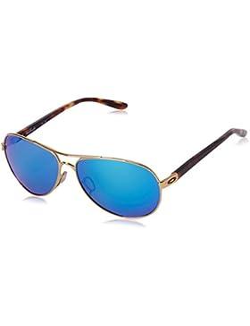 Oakley - Feedback Polarized, color azul, talla Sapphire Iridium Polarized/CAT 2