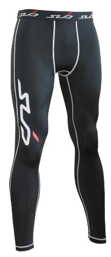 Sub Sports Kinder Dual Kompressionshose Funktionswäsche Base Layer  lang, Schwarz, 140/146