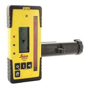 Leica RE 160 Digital Rugby Rod Eye 160 Digital Rotary Laser Receiver, Yellow by Leica