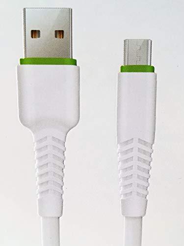 Preisvergleich Produktbild USB-3M-Android-Kabel für Smartphones Kameras Kameras mit Micro-USB 4.1A-Schnellladung weiße Farbe laden und synchronisieren