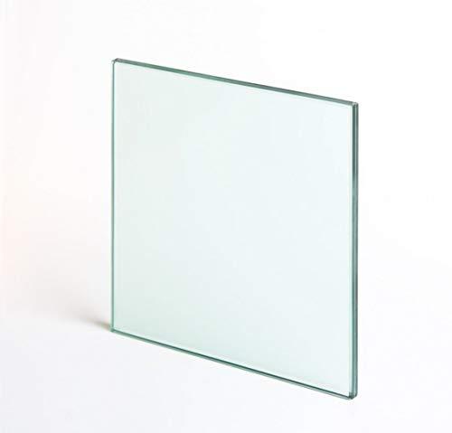 Tischplatte Aus Glas (Veggi Möbel Tischplatte aus gehärtetem Glas, glasplatte Quadratisch 70 cm x 70 cm x 10mm)