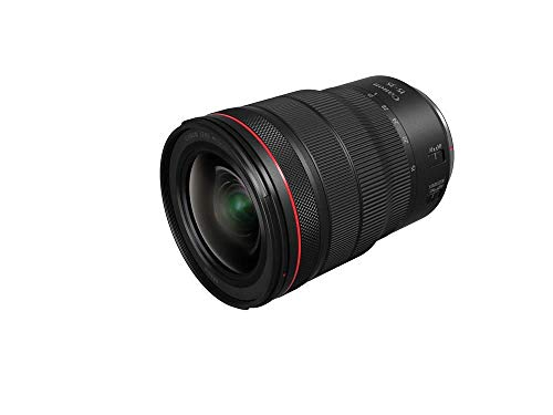 Canon Objektiv RF 15-35mm F2.8L IS USM Zoomobjektiv Lens für EOS R (82mm Filtergewinde, Bildstabilisator, Autofokus) schwarz