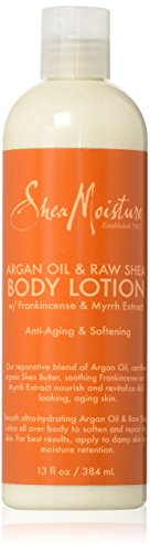 SheaMoisture Argan Oil & Raw Shea Butter Body Lotion w/ Frankincense and Myrrh Extract - 13 oz by Shea Moisture