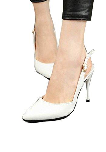 Gaorui , Sandales pour fille Blanc - blanc