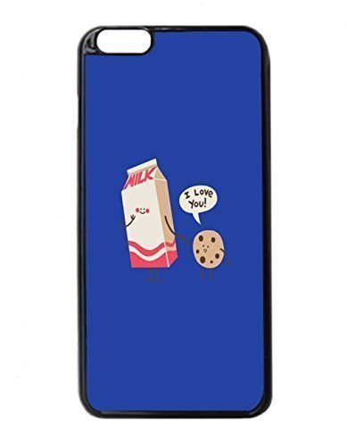 cookies and milk Pattern Image Protective Iphone 5/5S Hard Plastic Case Cover For Ipod Touch 4 es