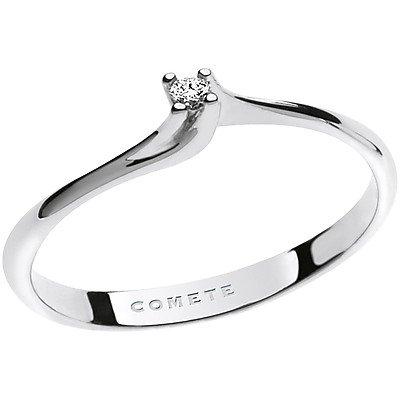 anello donna gioielli Comete Solitario classico cod. ANB 1674