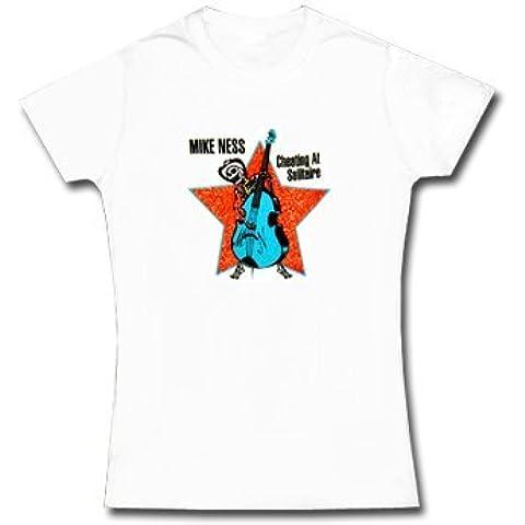 Mike Ness * Cheating * T-shirt da donna * M * LIQUIDAZIONE * ARTICOLO UNICO *