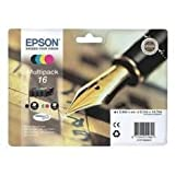 Epson C13T16264022 Original Tintenpatronen Pack of 4