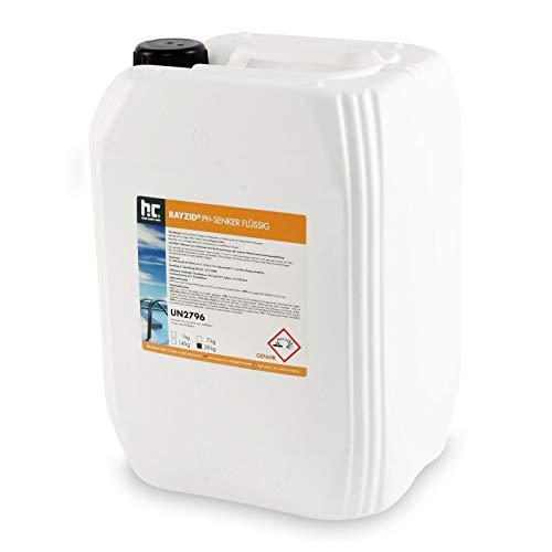 pH Senker Pool flüssig - 1 x 28 kg - Für einen optimalen pH-Wert und eine gute Wasserqualität - Höfer Chemie