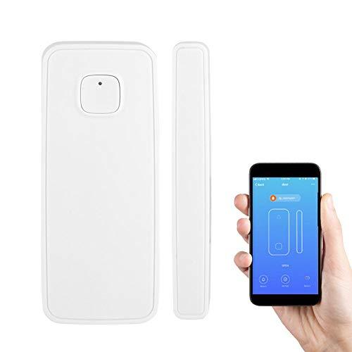 Vbestlife Alarma de Emergencia Antirrobo para Casa Sensor de Alarma WiFi de la Ventana y la Puerta para la Seguridad del Hogar Control Remoto Inalámbrico por App