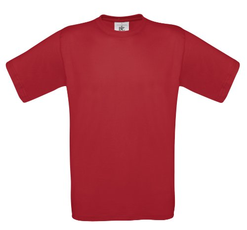 BCTU002 T-Shirt Exact 150 Herren Damen Deep Red