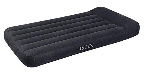 Intex Matelas Classic sans pompe électrique intégrée, 66767, gris, 99 x 191 x 30 cm