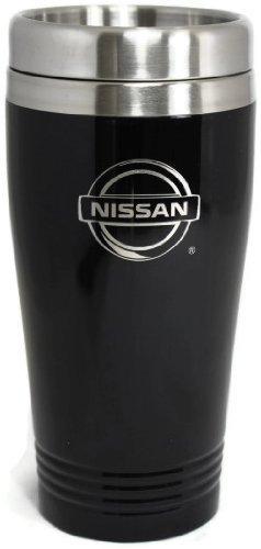 DanteGTS Nissan Reise-Thermobecher, Edelstahl, Rostfreier Stahl, schwarz, 16 oz (3.35