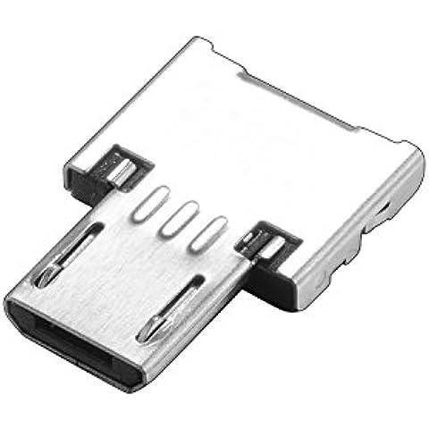 tinxi® Micro-B USB OTG Macho Adaptador de enchufe párrafo USB-A hembra 2,0 3,0