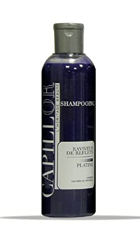 Shampoing raviveur platine - shampoing bleu déjaunissant blond et platine