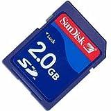 2GB Sandisk SD (Secure Digital) Card SDSDB-2048 (BXQ)