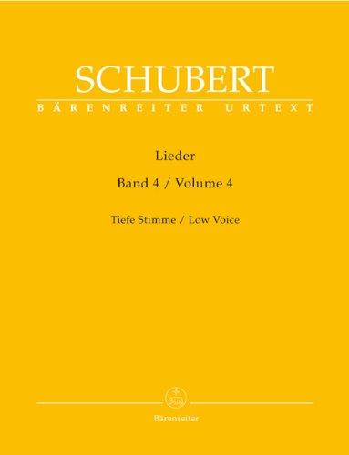 Lieder, Band 8 (Mittlere Stimme). Singpartitur, Sammelband, Urtextausgabe. BÄRENREITER URTEXT