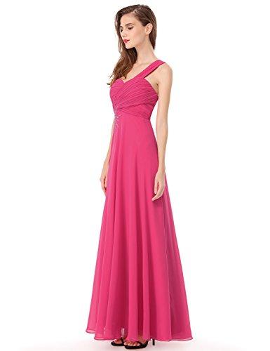 Ever Pretty robe de soir¨¦e asym¨¦trique avec une ¨¦paule 08077 Rose clair