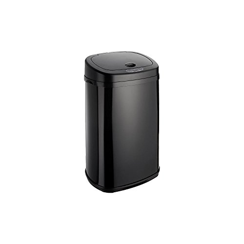 Dihl–Papelera con Sensor de Onyx 30L Negro Papelera