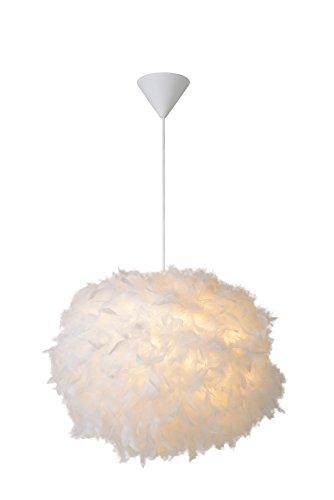 Lucide GOOSY SOFT - Suspension - Ø 50 cm - Blanc
