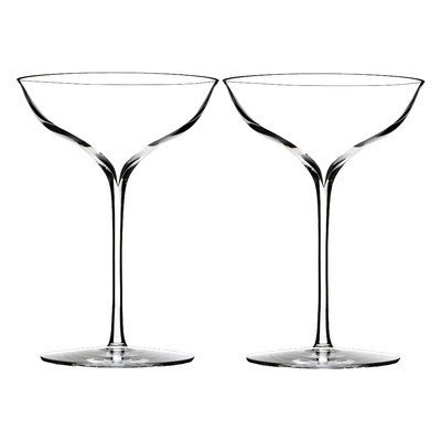 Elegance Champagne Belle Coupe (Set of 2) by Waterford Elegance Coupe