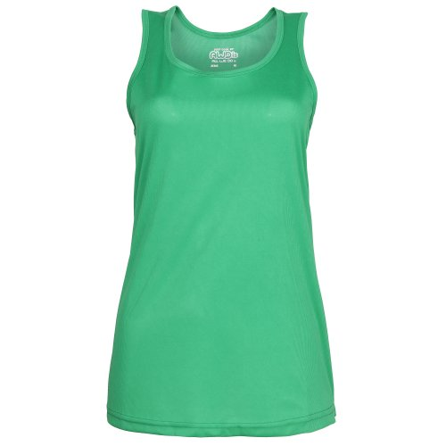 Just Cool - Canotta Sportiva - Donna Verde kelly