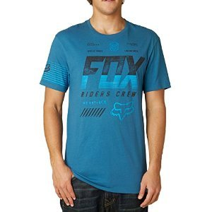 Fox Escaped SS Premium Tee Men blue steel Größe S 2015 T-Shirt (Steel Blue T-shirt)