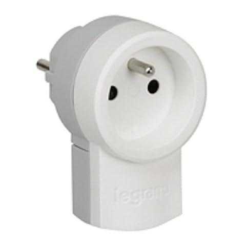 Legrand LEG50461 Fiche double fonction 250 V~ 16 A avec 2p+t 16 A Blanc