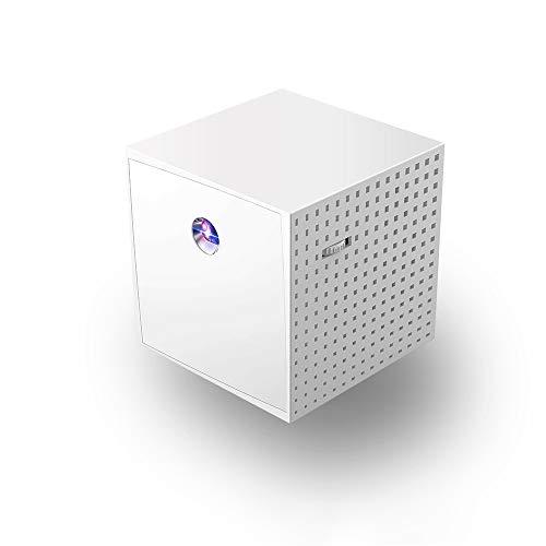 SG DLP-Projektor Tragbarer Mikroprojektor unterstützt das Mobile 5V-2A-Netzteil Unterstützung Apple-Handy/Android-Handy/PAD mit dem Bildschirm Horizont Netzteil